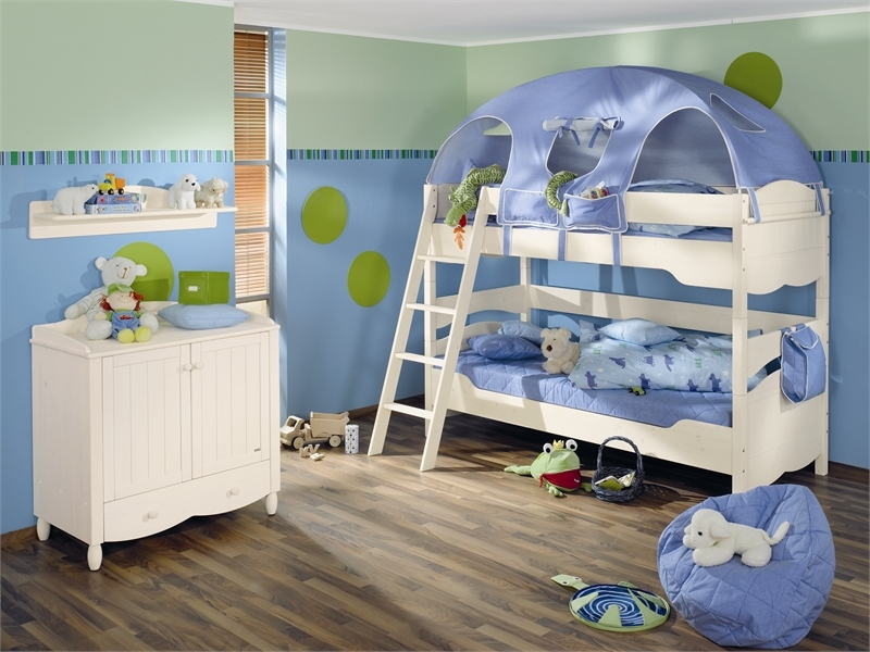 Blue Kids Bedroo