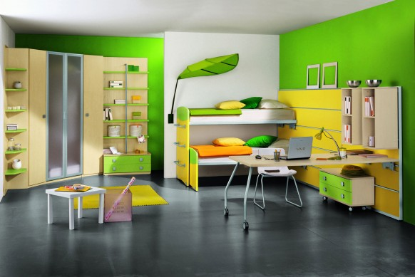 Fun Kids Bedroom 3