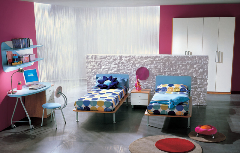 two-beds kids bedroom