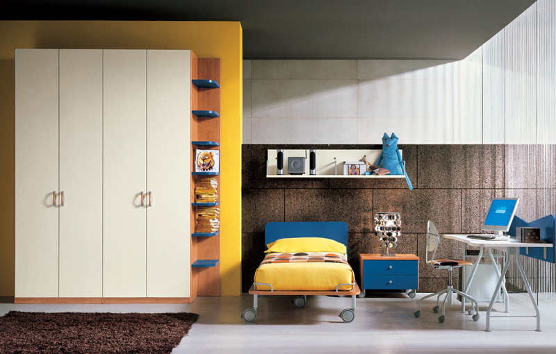 Neutral Yellow Kids Bedroom 2
