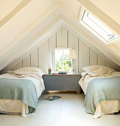 Small attic bedroom ideas quotes for Small attic bedroom designs