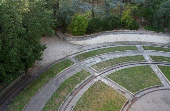 Villa Girasole - circular foundation