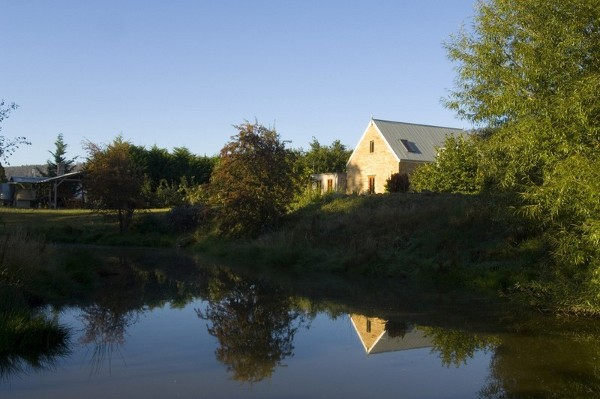 Armytage House landscape view