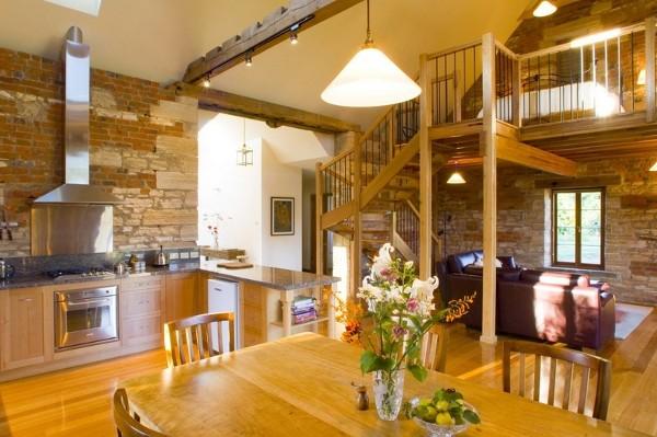 open-space kitchen