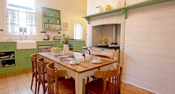 lake daylesford country house kitchen