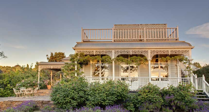 lake daylesford country house rooftop terrace