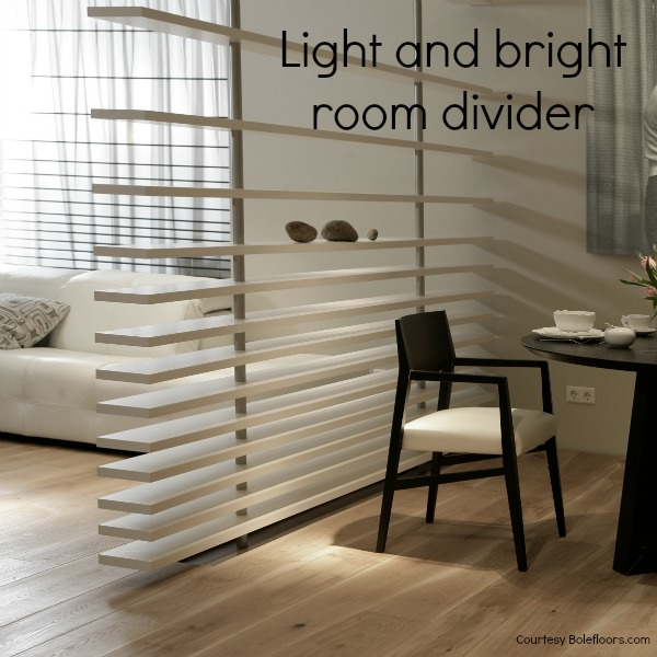 Open plan space Light and bright room divider image courtesy Bolefloor