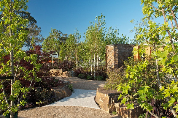 Chelsea-inspired garden in Melbourne