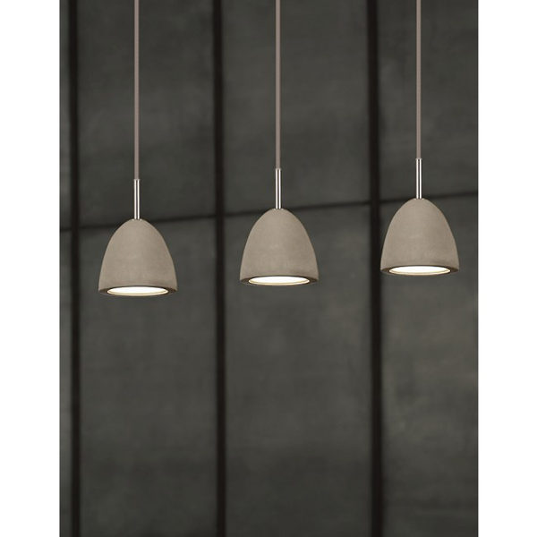 Concrete lights pendant