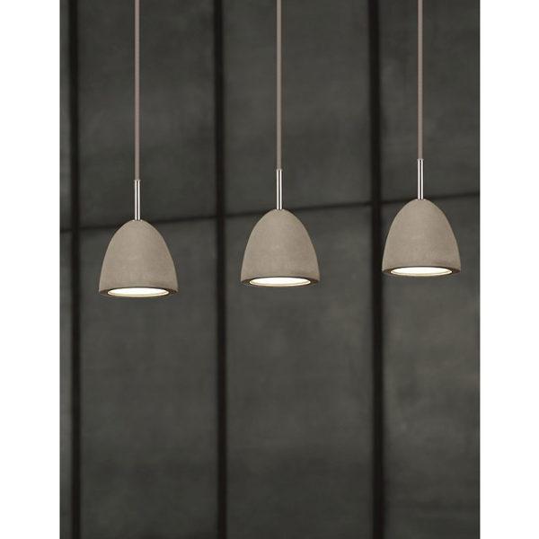 Concrete lights pendant
