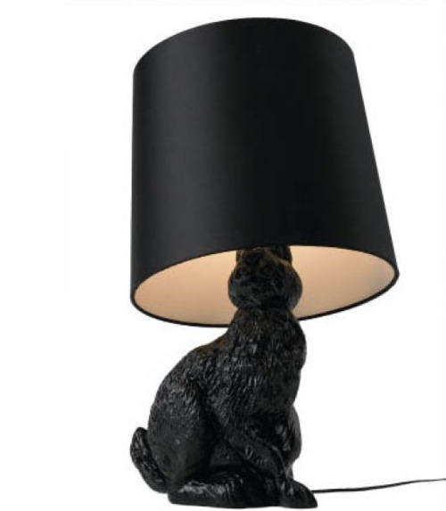 rabbit lamp shade