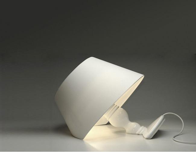 Sinking lamp shade