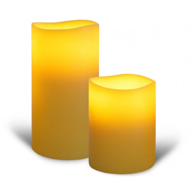 Yellow candle lights