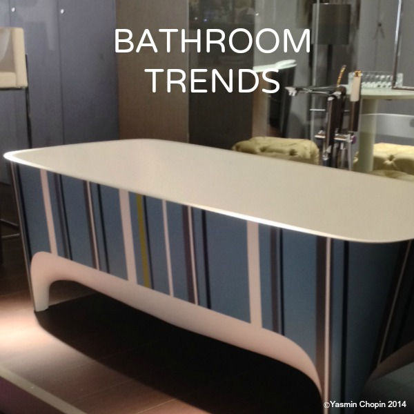 Bathroom trends Teuco bathtub stripes blue aqua 100 per cent design London