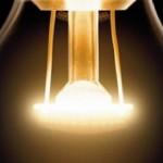 Transparent LED light bulb