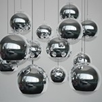 mirror ball pendant lights