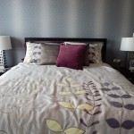 double bed bright bedroom