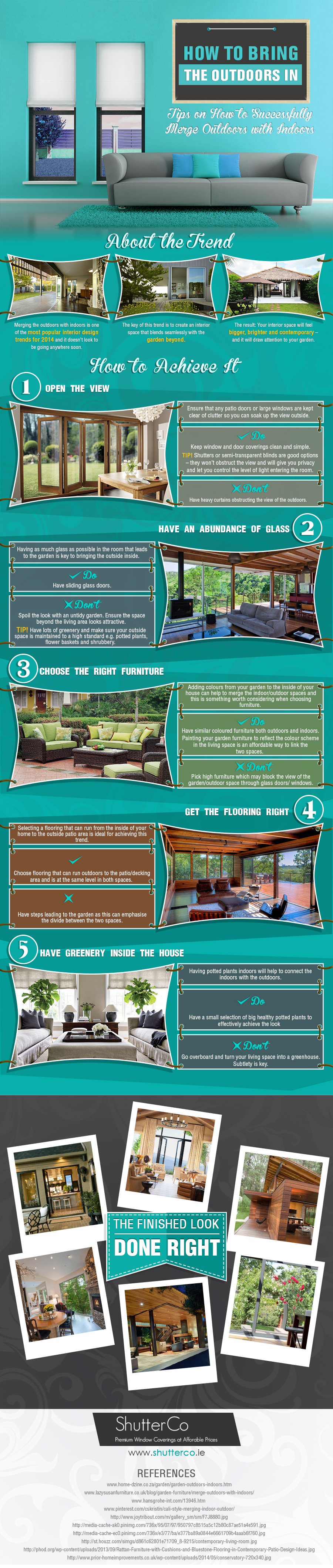 bring the outsides in infographic